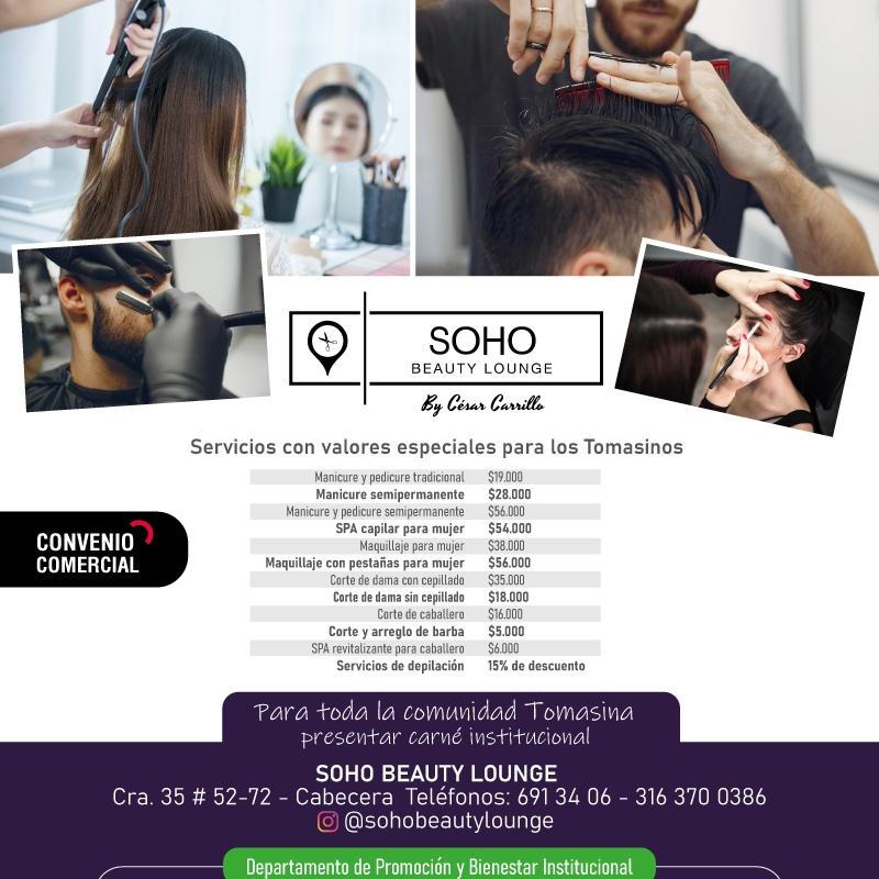 Convenio Soho Beauty