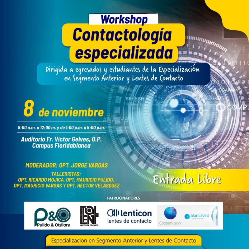 Workshop: Contactología Especializada