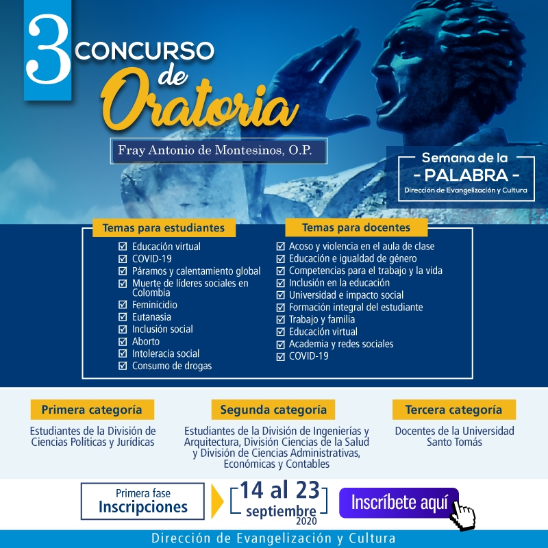 3 Concurso de Oratoria  Sep